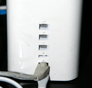 Available USB Port on AirPort Extreme Router