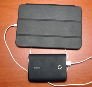 Anker Astro3 Charging an iPad Mini