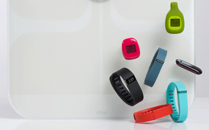Various Fitbit Fitness Tracker Products