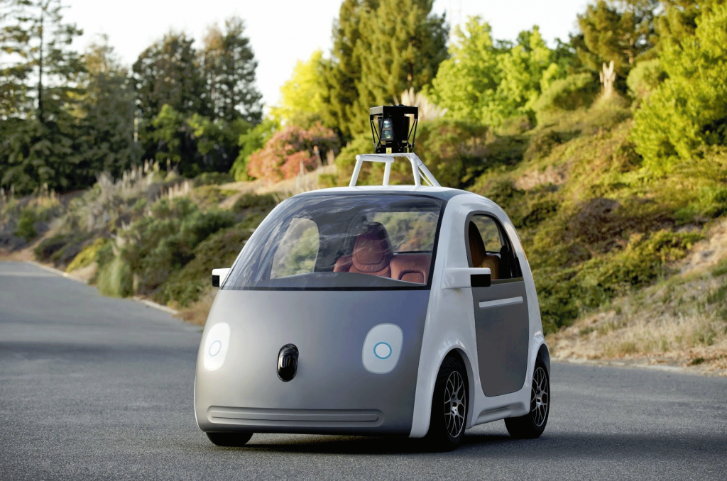 Google Self Driving Car Prototype