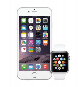 Apple Watch with iPhone 6