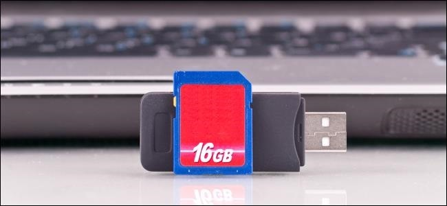 SD Cards Can Be Used In Place of USB Flash Drives