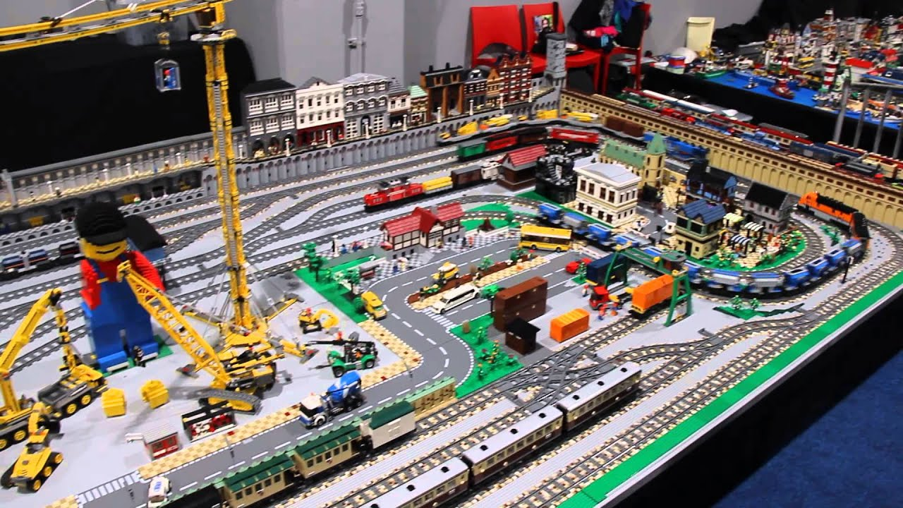 Lego Worlds City