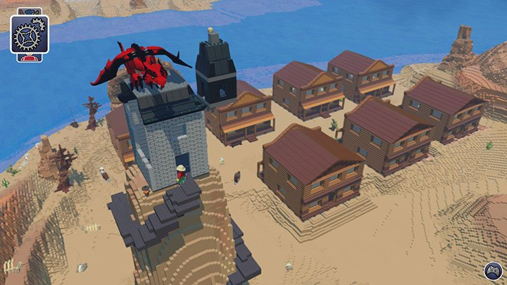 Lego Worlds Dragon